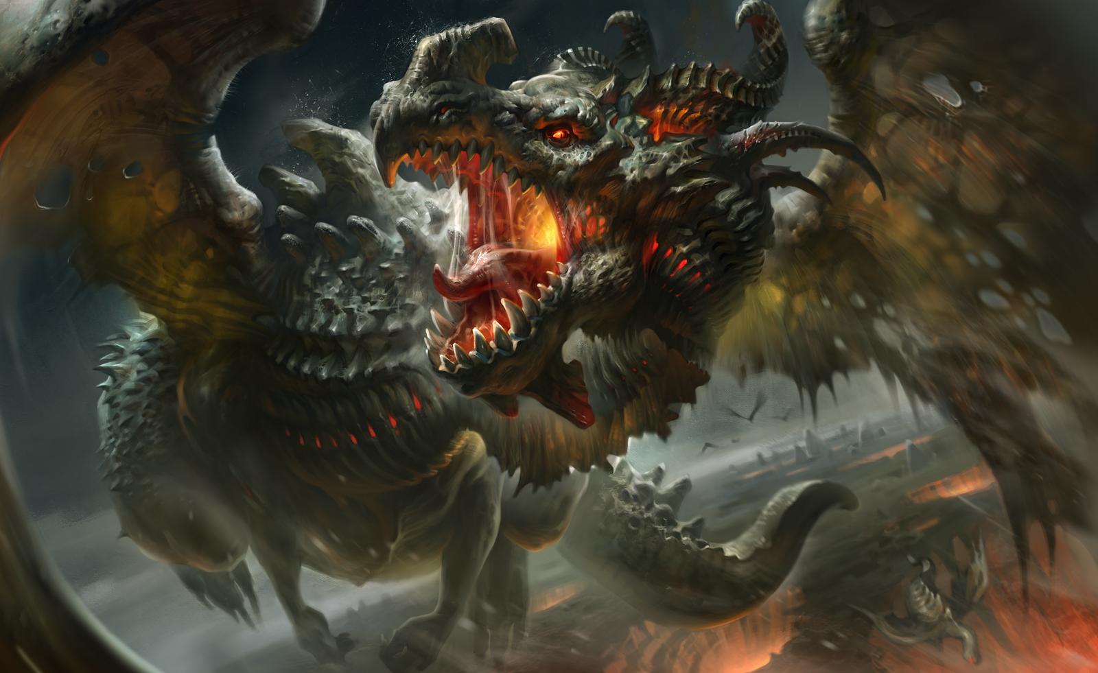 Рей дракон титан