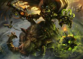 Goblin toxic bomber by IvanLaliashvili