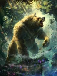 Bear by IvanLaliashvili