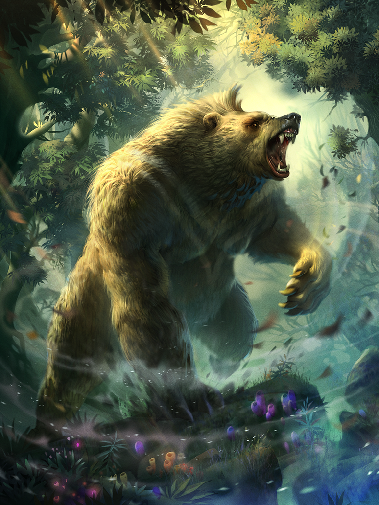 Image result for Giant bear man fantasy