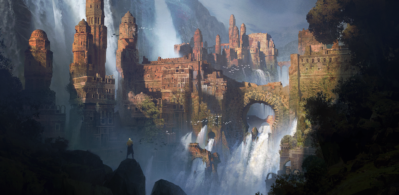 Waterfalls by IvanLaliashvili