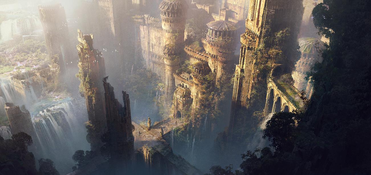 Ruins by IvanLaliashvili