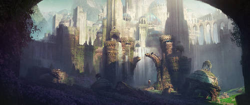 Ruins 2 by IvanLaliashvili