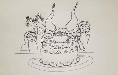 Happy Birthday! by Jabberlily