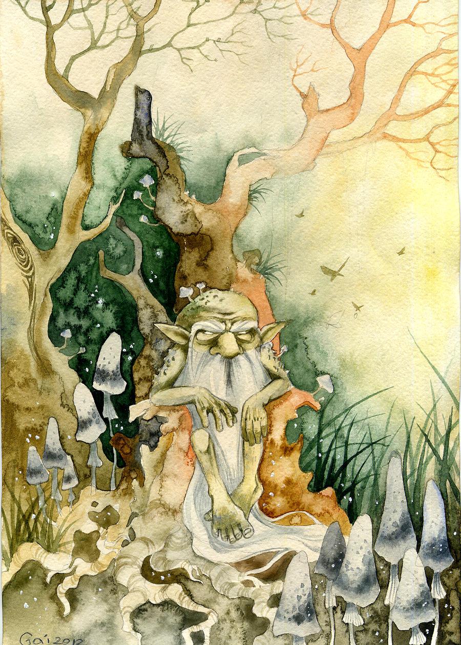 gnome by Gai-Gaal