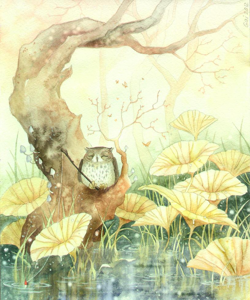owl by Gai-Gaal