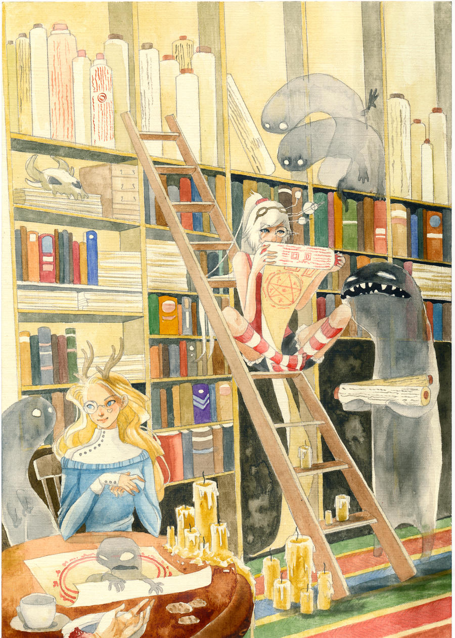 library by Gai-Gaal