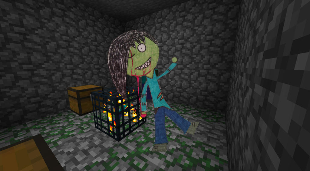 Human zombie minecraft by kou98 on deviantart - Zombie style minecraft ...