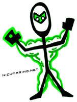 Muscle Lantern by nickmarino