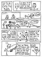 Stick Cats no. 2 by nickmarino