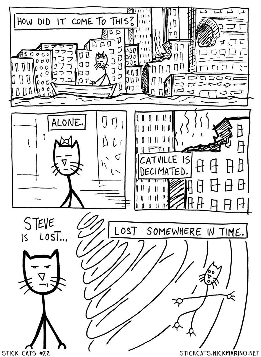 Stick Cats no. 22
