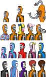 The Many Armors of Destruct-O-Tron