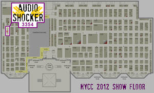Hang with the AudioShocker at NYCC 2012!