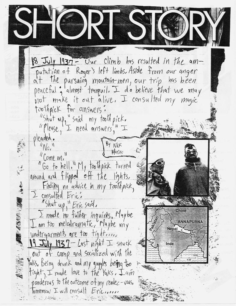 short story (from The Lockeroom #1) by nickmarino