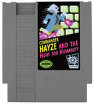 Commander Hayze And The Hunt For Humanity NES game