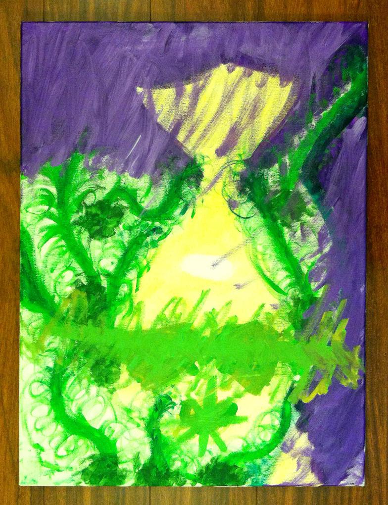 Mind's Eye painting by nickmarino