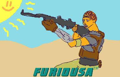 furiosa f-art by nickmarino