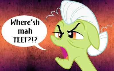 Where'sh mah TEEF?!? 1680x1050 by InstantCoffeeBarista