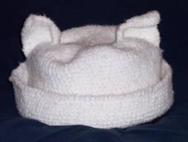 Kitty Hat for Misskittyoooo by InstantCoffeeBarista