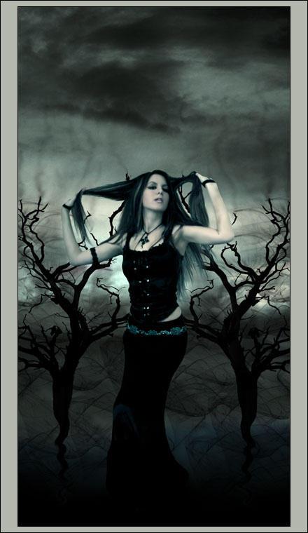 Darkness by huskyartists