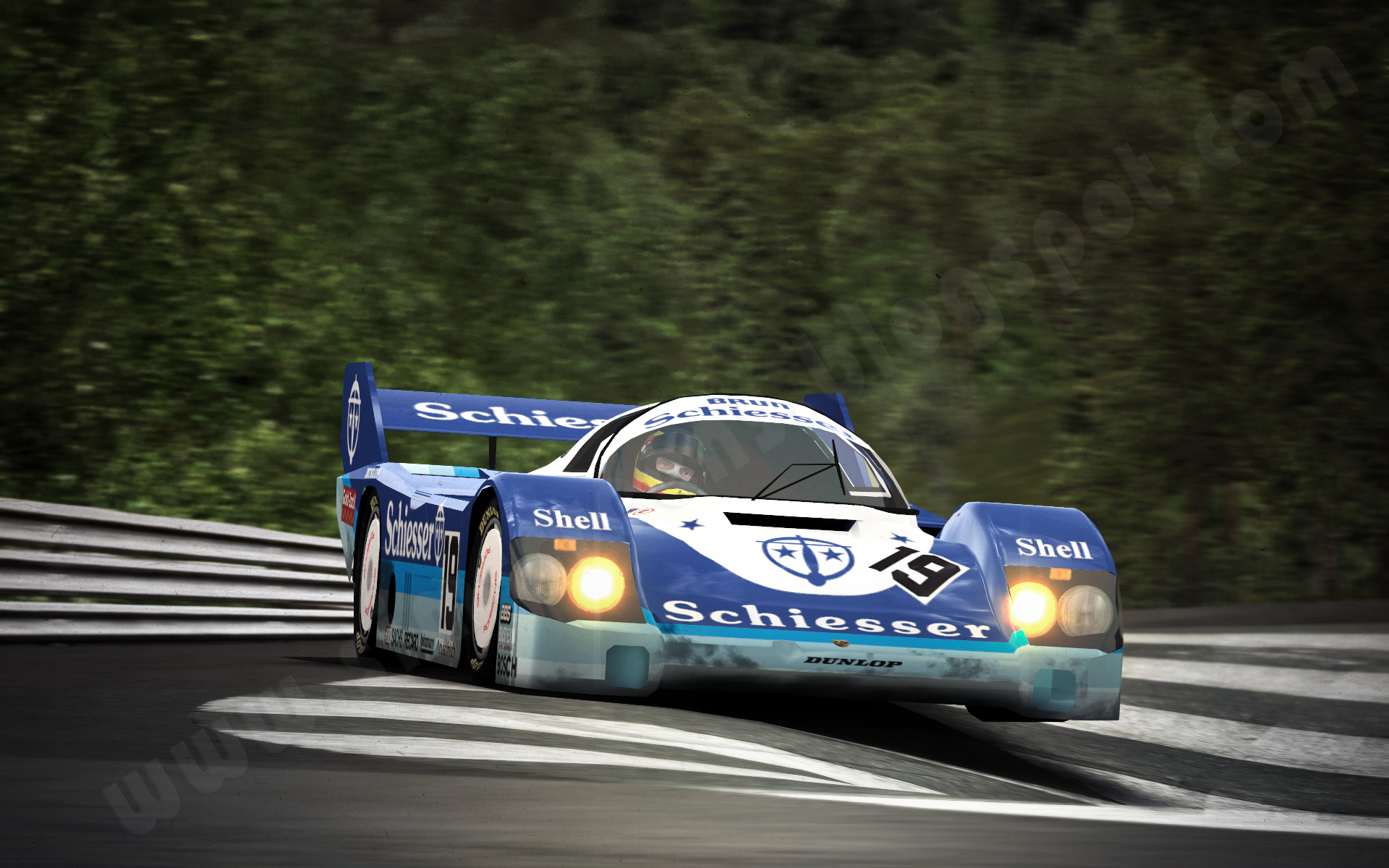 More Than Just Pixels Gtr2 Stefan Bellof Nordschleife