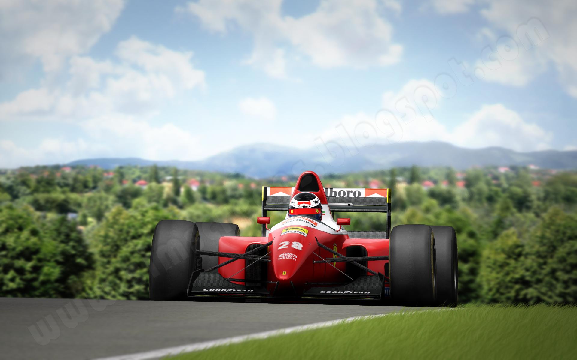 more than just pixels: [rF] Gerhard Berger Hungaroring 1993