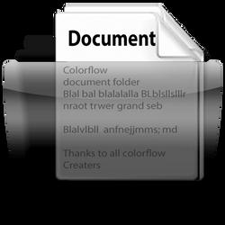 Colorflow document folder