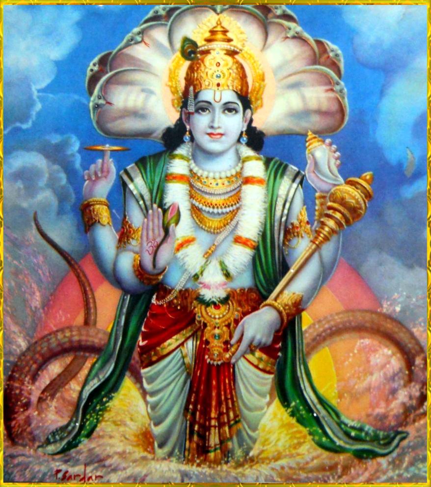 Hinduism gods vishnu