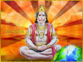 HANUMAN DEV by VISHNU108