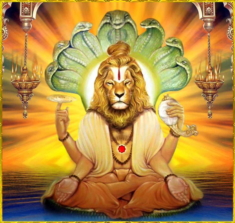 Lord Narasimha Miracles Images Photos Wallpapers Hd 2018: YOGA NRSIMHA By VISHNU108 On DeviantArt