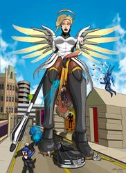 Mercy 1v5 by Spuski