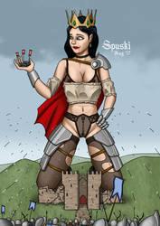 Medieval Queen by Spuski