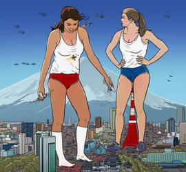 Titans Thrashing Tokyo