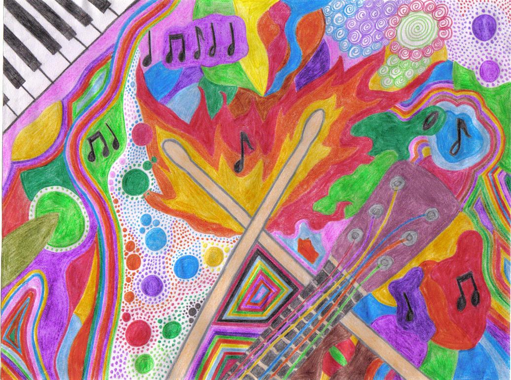 Colour Of Music by PurpleTartan