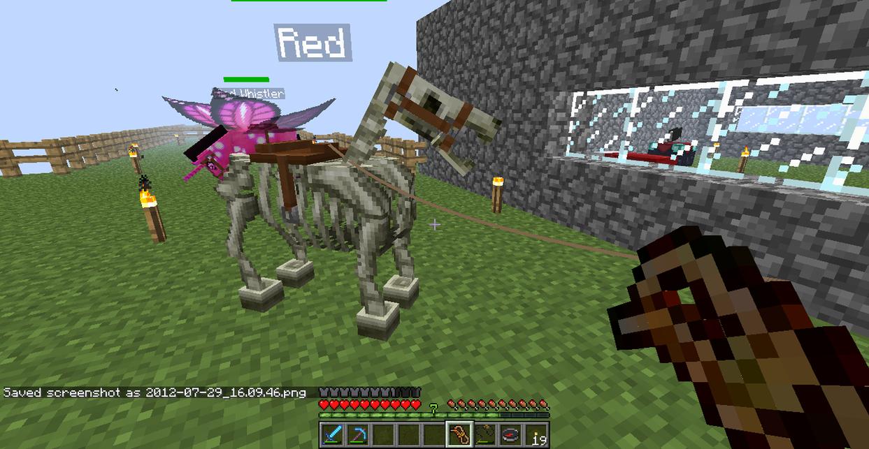 Minecraft mods creatures fairy horse