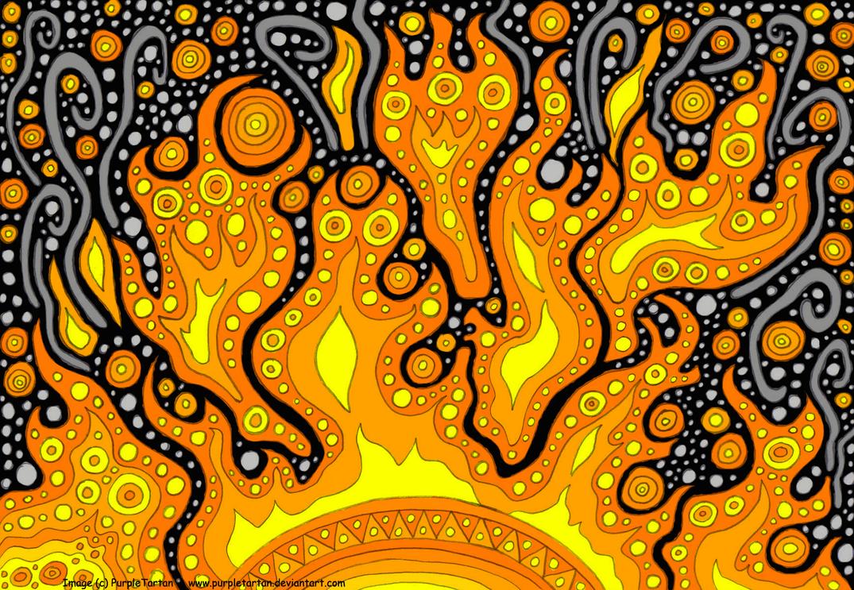 Fire and Smoke by PurpleTartan