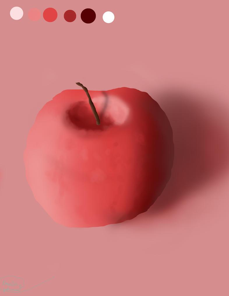 Hey apple by Peekofwar