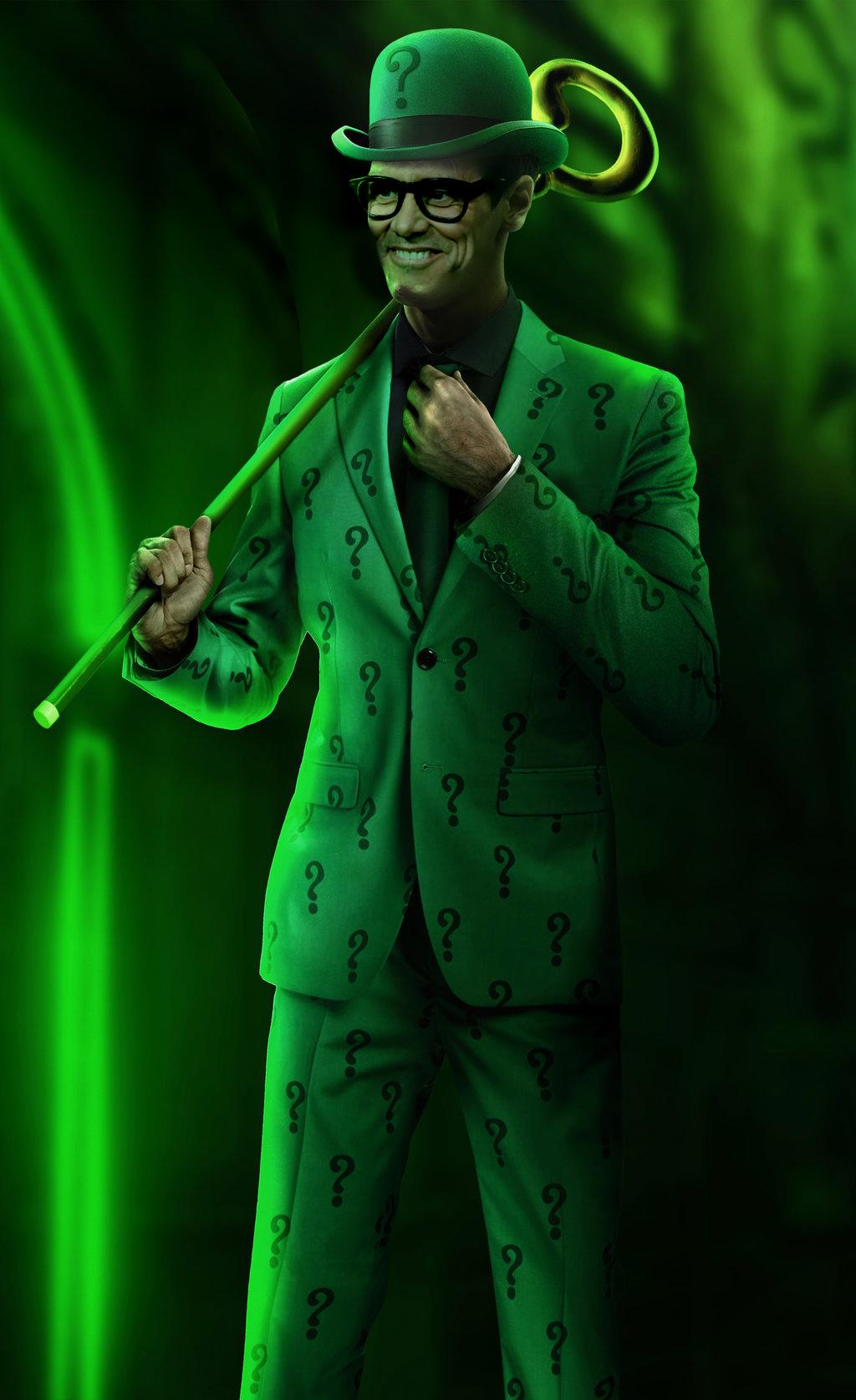Jim Carrey as the Riddler by Daviddv1202 on DeviantArt