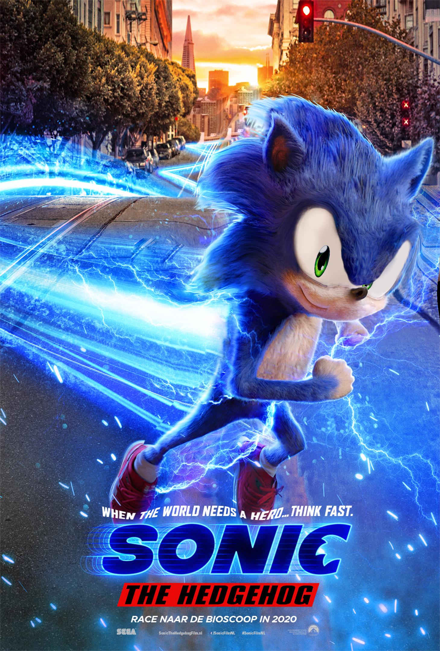 Sonic The Hedgehog Poster My Edit By Daviddv1202 On Deviantart