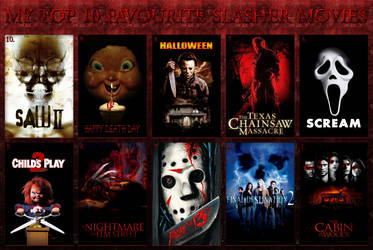 My Top 10 Favourite Slasher Movies