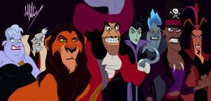 Revenge of the Disney Villains