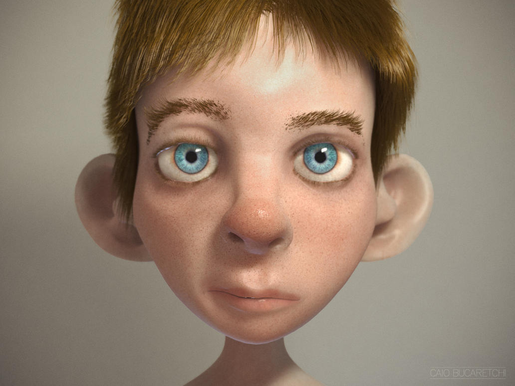 Kid portrait by caiobuca