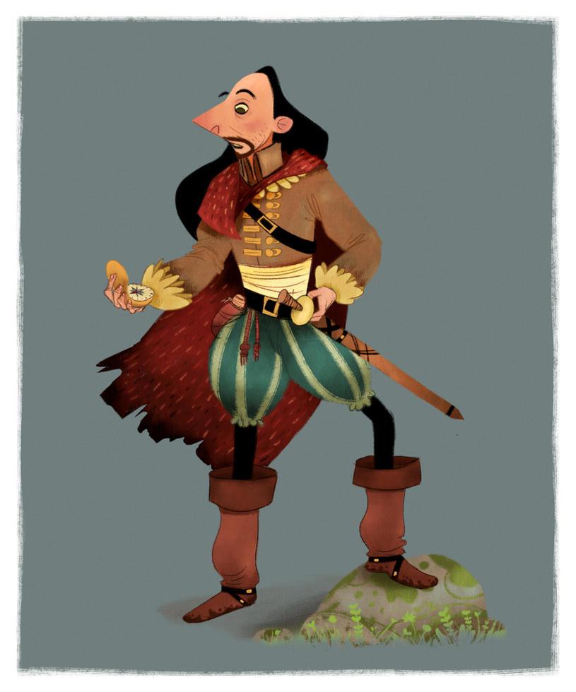 Renaissance Adventurer by caiobuca