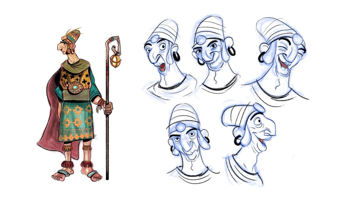 Inca Expressions by caiobuca
