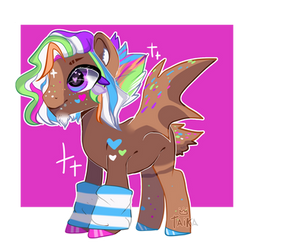 Male pink closed adopt by kikkapone