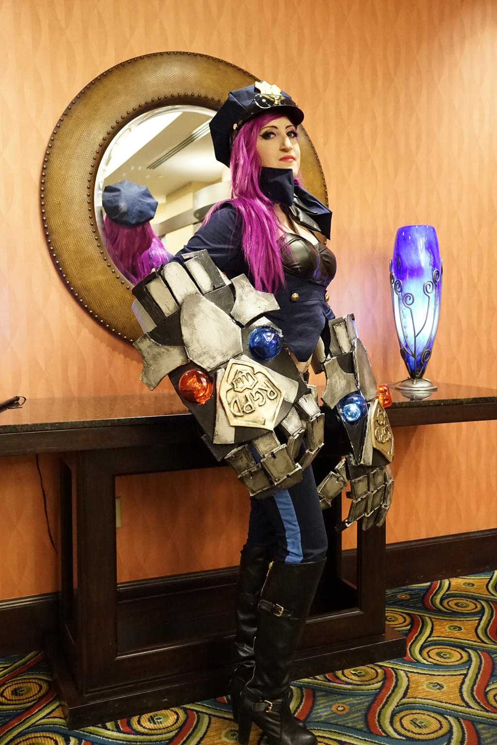 Officer Vi Cosplay League of Legends 3 by spacechocolatesOfficer Vi League Of Legends
