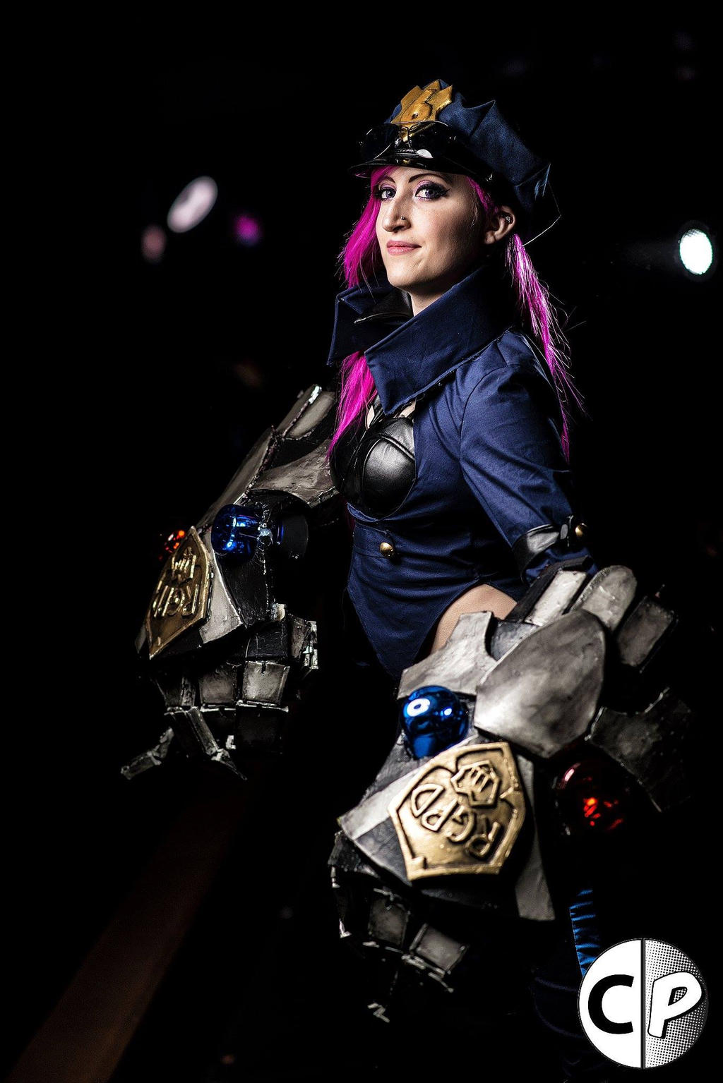 Officer Vi Cosplay League of Legends 7 by spacechocolatesOfficer Vi League Of Legends