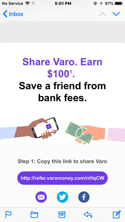Earn 100 when you signup to Varo by MCL771 on DeviantArt