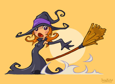 Witch by ShinKoala - Cad�Lara AvatarLar :)