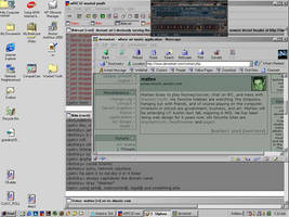 First screenshot of dA